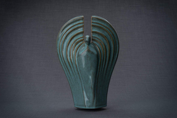 Ceramic Art Urn for Ashes -