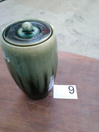 "Pottery Wheel Urn for Ashes ""Memory"" - Large 