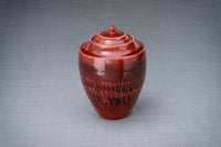 Ceramic Art Urn for Ashes - handmade on a pottery wheel by Pulvis Art Urns