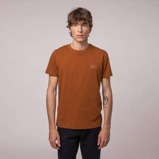 ARCY T-SHIRT COTON RECYCLE BRODE