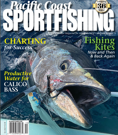 Opah Was Featured In Pacific Coast Sportfishing Magazine!