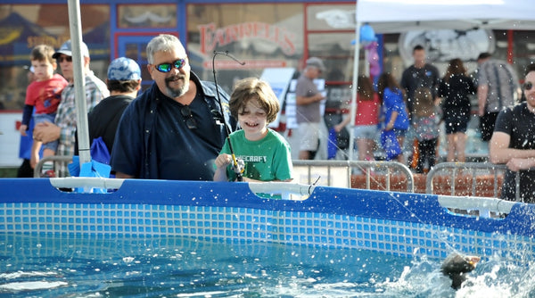 fishing at the Fred Hall Show Del Mar