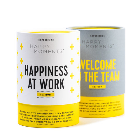 Welcome to the team + Happiness at work