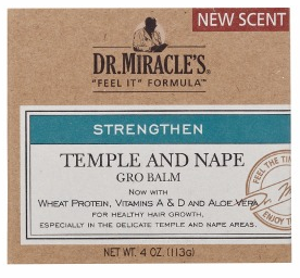 Dr. Miracle's Strengthen Temple & Nape Gro Balm Super strengthen