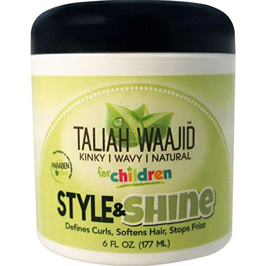 Taliah Waajid Herbal Style & Shine For Natural Hair, 6 oz (Pack of 5)