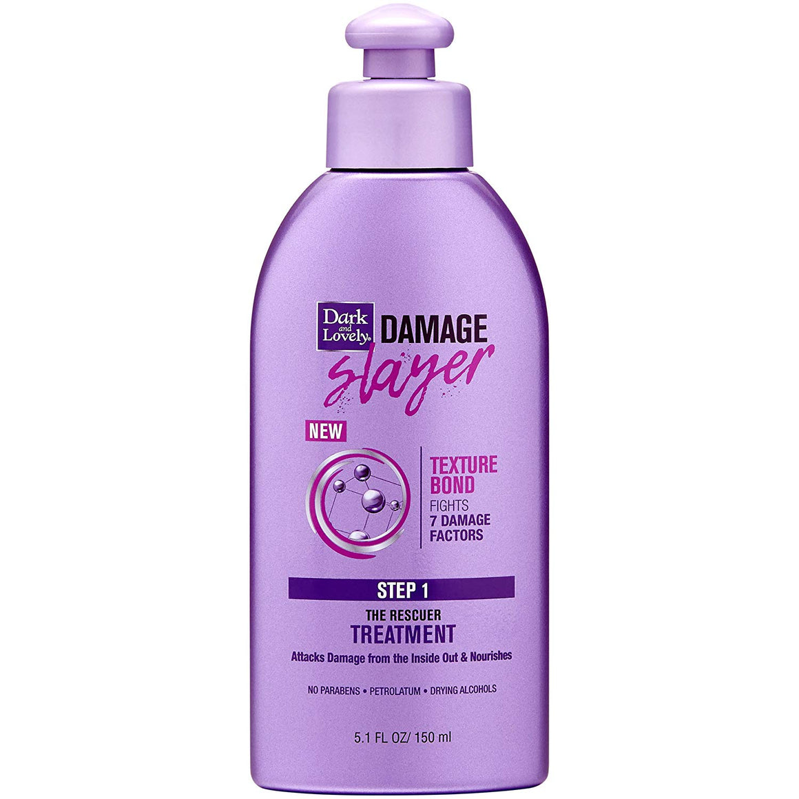 Dark and Lovely Damage Slayer The Rescuer Treatment, 5 Fluid Ounce