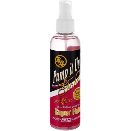 Bronner Bros Bronner Bros Pump it Up! Gold Styling Spritz, 8 oz