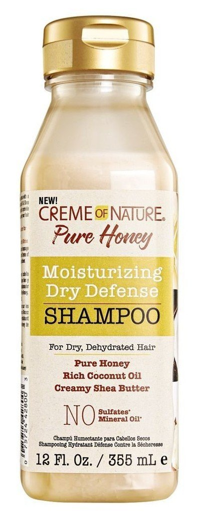 Creme of Nature Moisturizing Dry Defense Shampoo, 12 Ounce