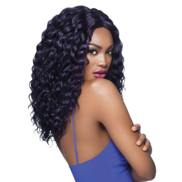 Outre Swiss Lace L Parting Lace Front Wig EMANI