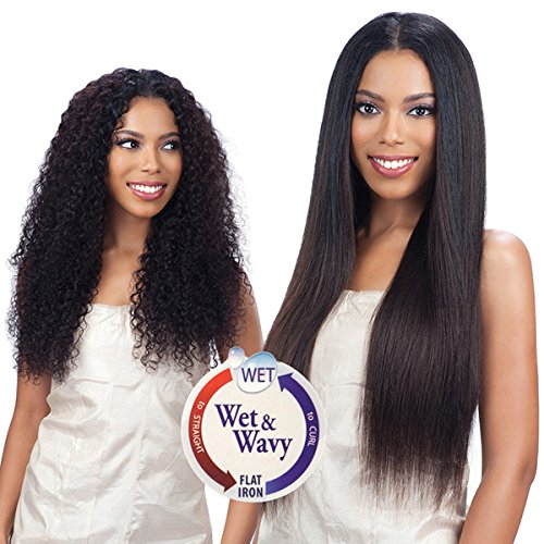 "Indian Remy Wet & Wavy 4Pcs Loose Deep ""8inch"""