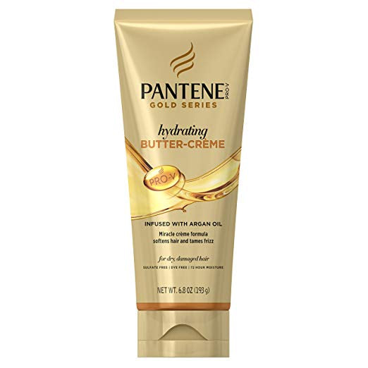 Pantene Pro-V Gold Series Hydrating Butter-Crème Treatment for Hair, 6.8 Ounce