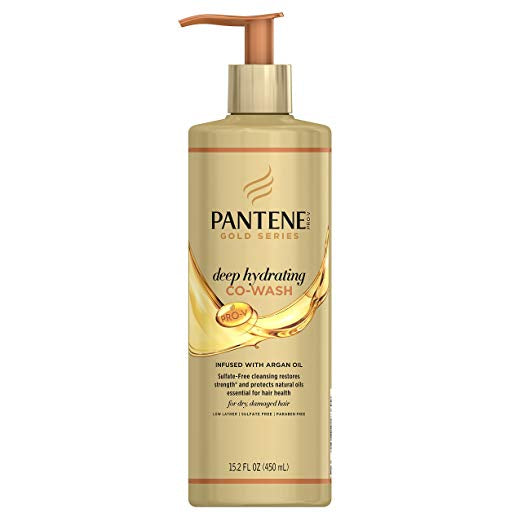 PANTENE PRO-V GOLD SERIES DEEP HYDRATING CO-WASH, 15.2 FL OZ (Packaging May Vary)