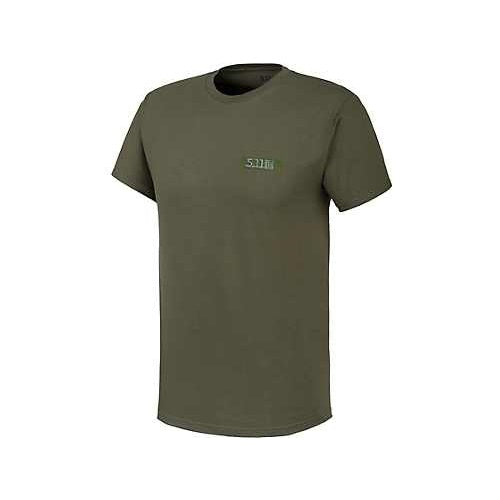 5.11 Tactical - Molle America Tee - Military GRN - 41195AI