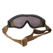 Load image into Gallery viewer, Rothco - SWAT Tec Single Lens Tactical Goggle - Coyote Brown - 11397