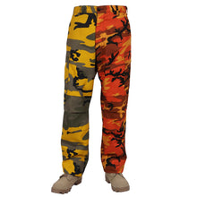Load image into Gallery viewer, Rothco - Two-Tone Camo BDU Pants - Stinger Yellow / Savage Orange Camo - 2XL - 1831
