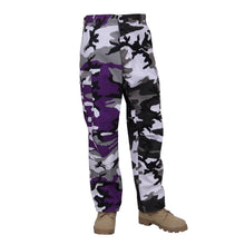 Load image into Gallery viewer, Rothco - Two-Tone Camo BDU Pants - Ultra Violet Purple / City Camo - 2XL - 1841