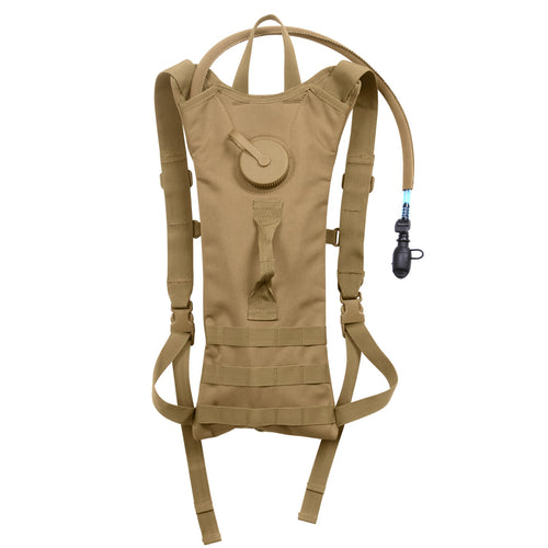 Rothco - MOLLE 3 Liter Backstrap Hydration System Coyote Brown - 2825