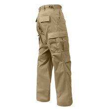Load image into Gallery viewer, Rothco - Relaxed Fit Zipper Fly BDU Pants Khaki - 2932