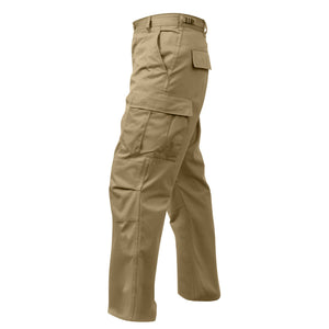 Rothco - Relaxed Fit Zipper Fly BDU Pants Khaki - 2932
