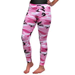 Rothco - Womens Camo Leggings - Pink Camo - 3188