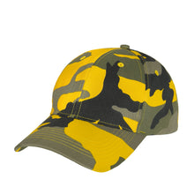 Load image into Gallery viewer, Rothco - Supreme Camo Low Profile Cap - Stinger Yellow Camo - 3553
