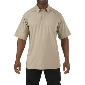 5.11 Tactical - Rapid Performance Short Sleeve Polo - Silver Tan - 41018