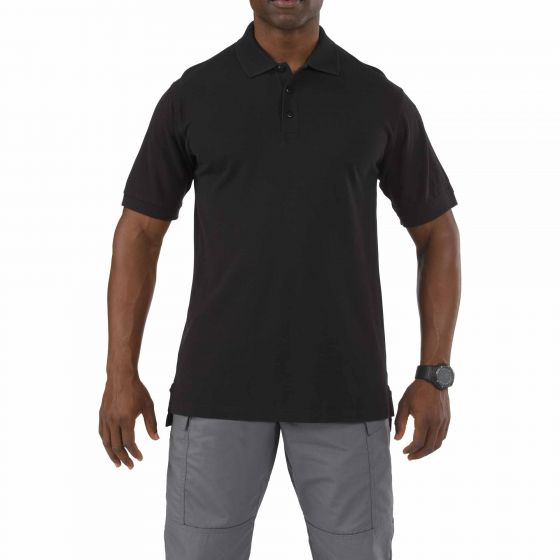 5.11 Tactical - Professional Short Sleeve Polo Shirt - Black - 41060