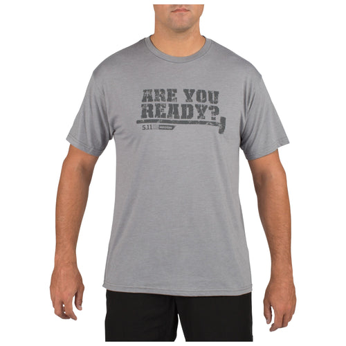5.11 Tactical - 5.11 Recon You Ready T - Grey Heather - 41191AC