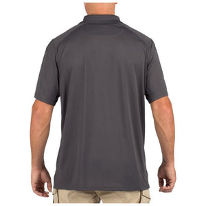 5.11 Tactical - Helios Short Sleeve Polo Shirt - Charcoal - 41192