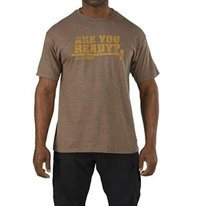 5.11 Tactical - Recon You Ready Tee - Brown Heather - 41191AC