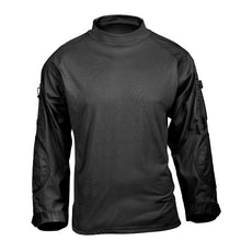 Load image into Gallery viewer, Rothco - Tactical Airsoft Combat Shirt - Black - 45010