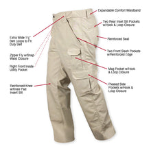 Load image into Gallery viewer, Rothco - Tactical Duty Pants Khaki - 4665
