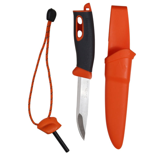 LightMyFire - Swedish FireKnife with integrated Swedish FireSteel Orange - 468
