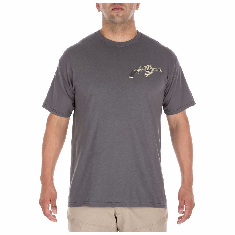 5.11 Tactical - Cold Hands Tee - Charcoal - 41195AJ