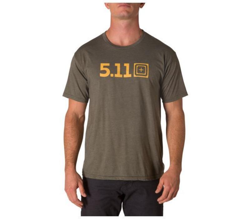 5.11 Tactical - Legacy Pop Tee - MLTY GRN HTR - 41191AAC