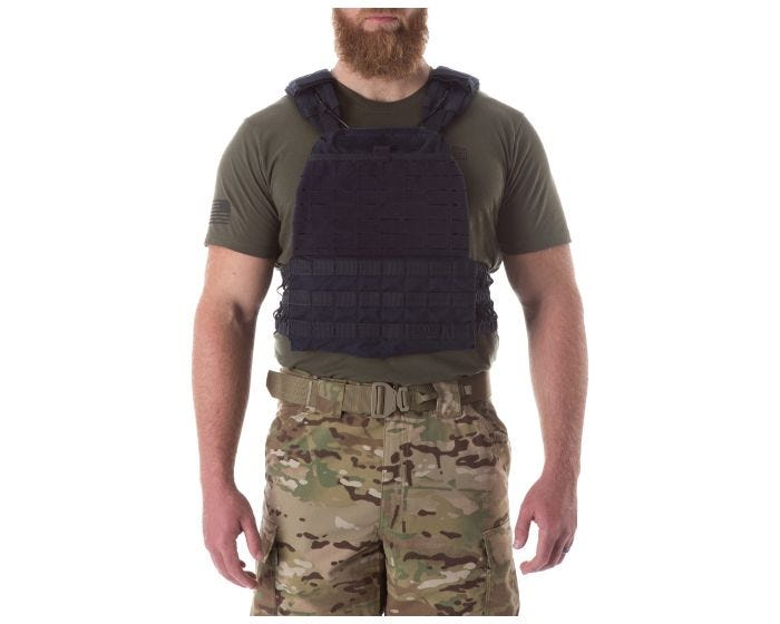 5.11 Tactical - Tactec Plate Carrier - Dark Navy - 56100