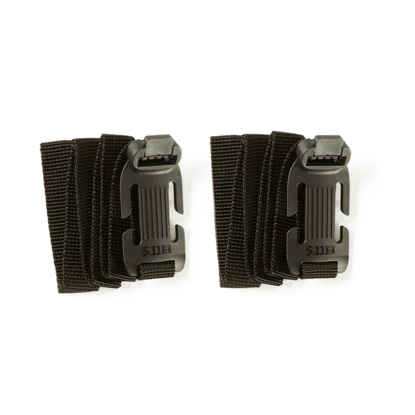 5.11 Tactical - Sidewinder Straps Small 2Pk - Black - 56482