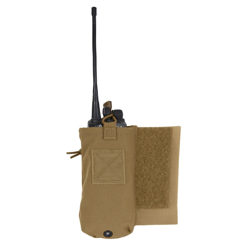 Rothco - LACV (Lightweight Armor Carrier Vest) Side Radio Pouch Set Coyote Brown - 5734