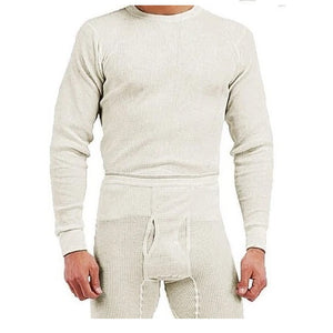 Rothco - Heavyweight Thermal Knit Underwear Top - White - 6448
