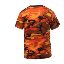 Load image into Gallery viewer, Rothco - Colored Camo T-Shirts - Savage Orange Camo - 5997