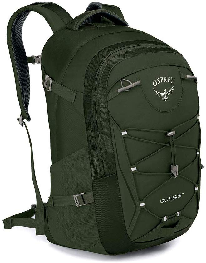 Osprey - Quasar Nori Green O/S Hiking Backpack Bag - 10001680
