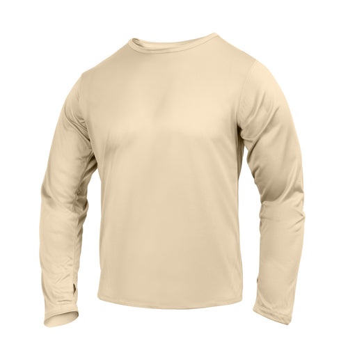 Rothco - Gen III Silk Weight Underwear Top - Desert Sand- 62020