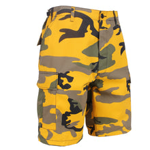 Load image into Gallery viewer, Rothco - Colored Camo BDU Shorts - Stinger Yellow Camo - 65007