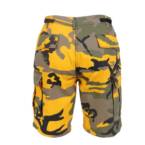Rothco - Colored Camo BDU Shorts - Stinger Yellow Camo - 65007