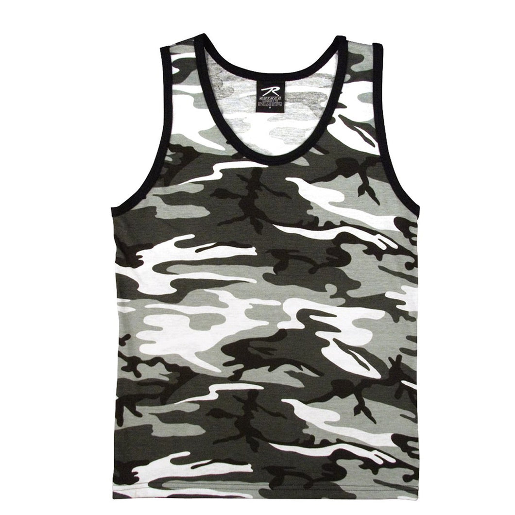 Rothco - Camo Tank Top - City Camo - 6601