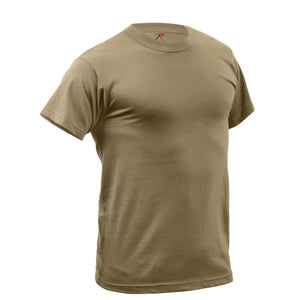 Rothco - Quick Dry Moisture Wicking T-Shirt - Coyote Brown - 67947