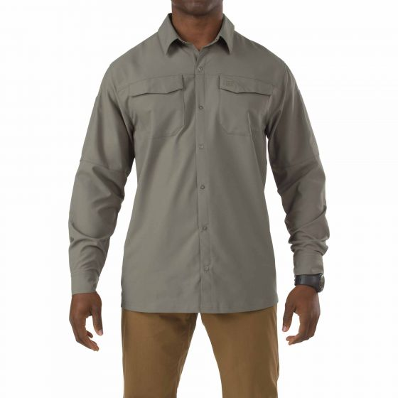 5.11 Tactical - Freedom Flex L/S Shirt - Sage Green - 72417
