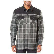Load image into Gallery viewer, 5.11 Tactical - Endeavor L/S Flannel Shirt - Charcoal Plaid - 72468
