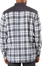Load image into Gallery viewer, 5.11 Tactical - Endeavor L/S Flannel Shirt - Battleship Plaid - 72468