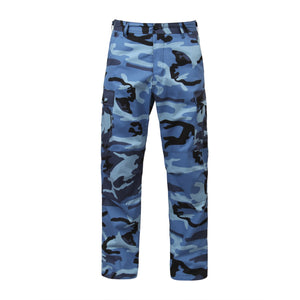 Rothco - Color Camo Tactical BDU Pant - Sky Blue Camo - 7882
